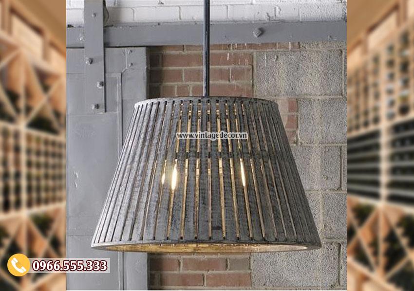 Mẫu đèn gỗhandmade DG053