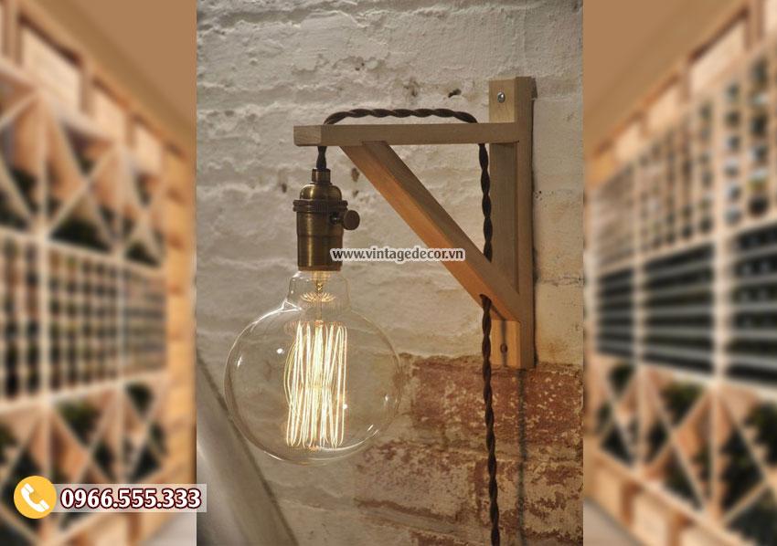 Mẫu đèn treo tường mini đơn giản DG005