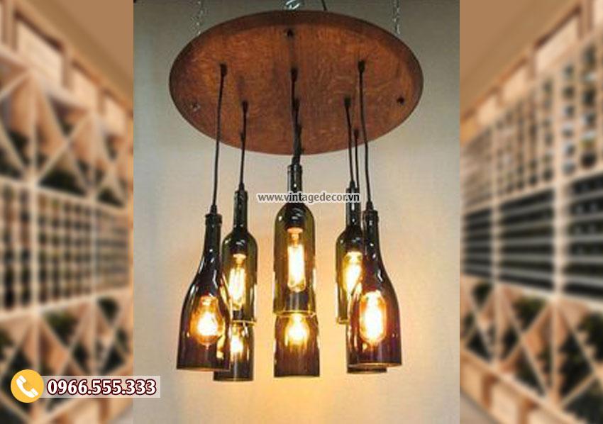 Mẫu đèn treo trần trang trí ngược thời gian DG083