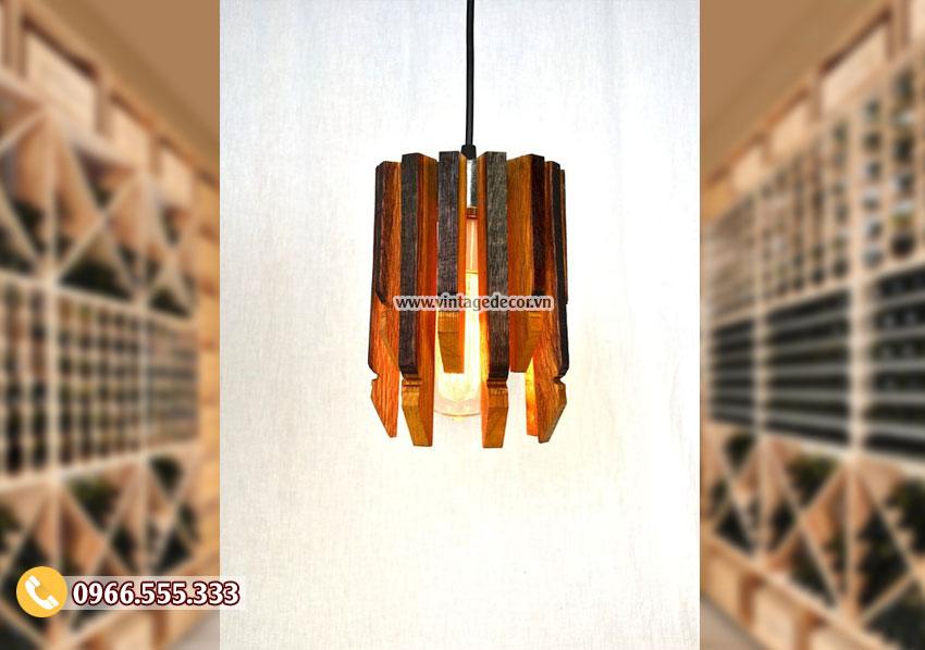 Mẫu đèn gỗ mini đẹp DG087