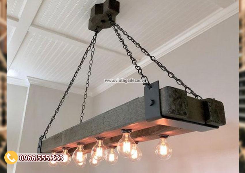 Mẫu đèn gỗ treo tường DG88