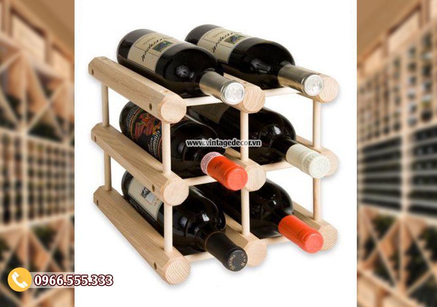 Mẫu kệ rượu trang trí TBR142