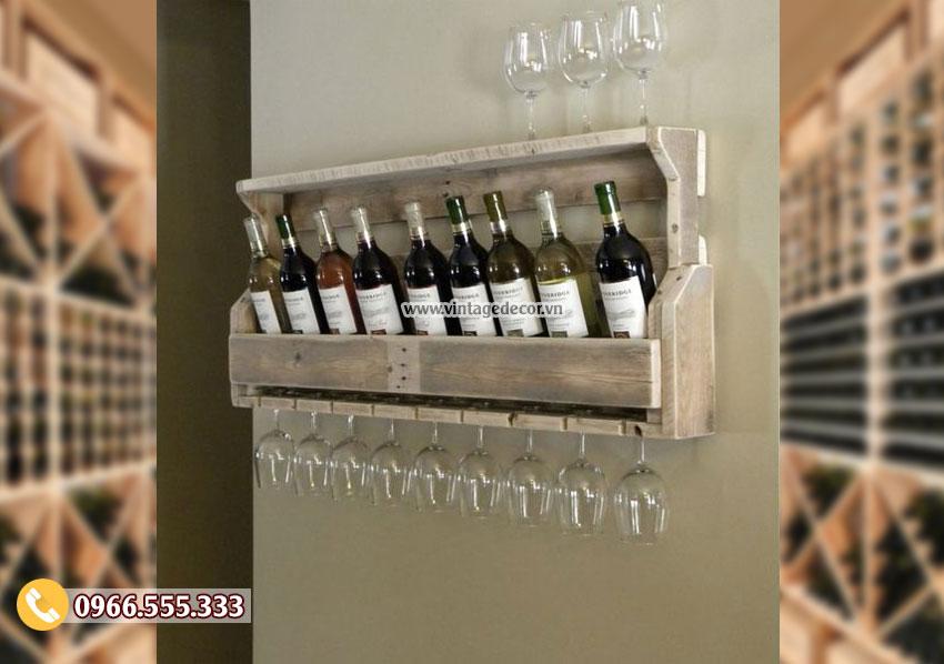 Mẫu kệ rượu vang chắc chắn TBR146