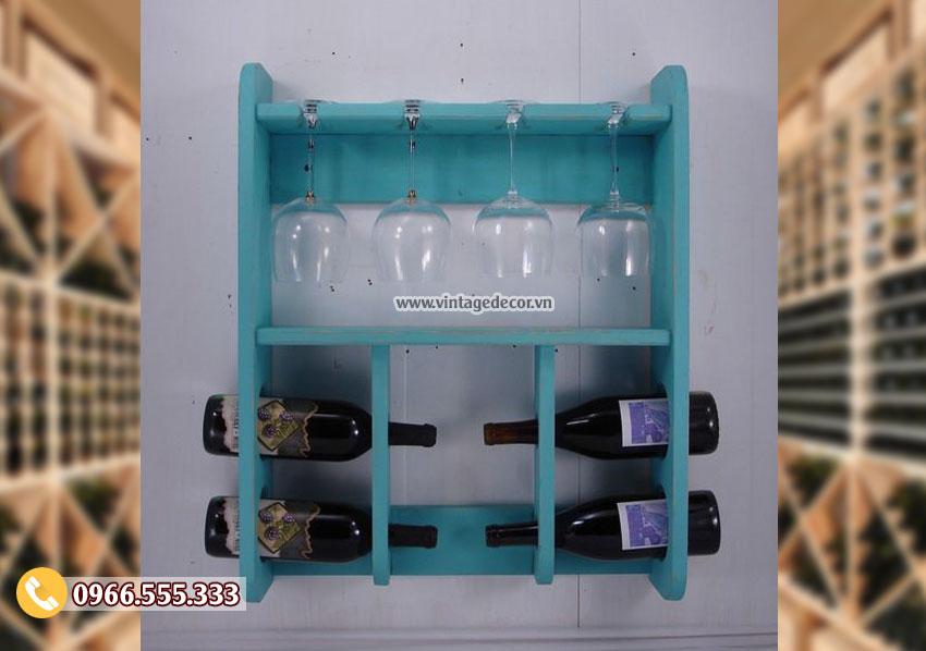 Mẫu kệ rượu vang phong cách hiện đại TBR174