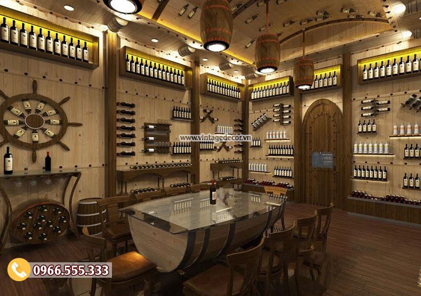 Lên kế hoạch đầu tư kinh doanh nhà hàng hầm rượu