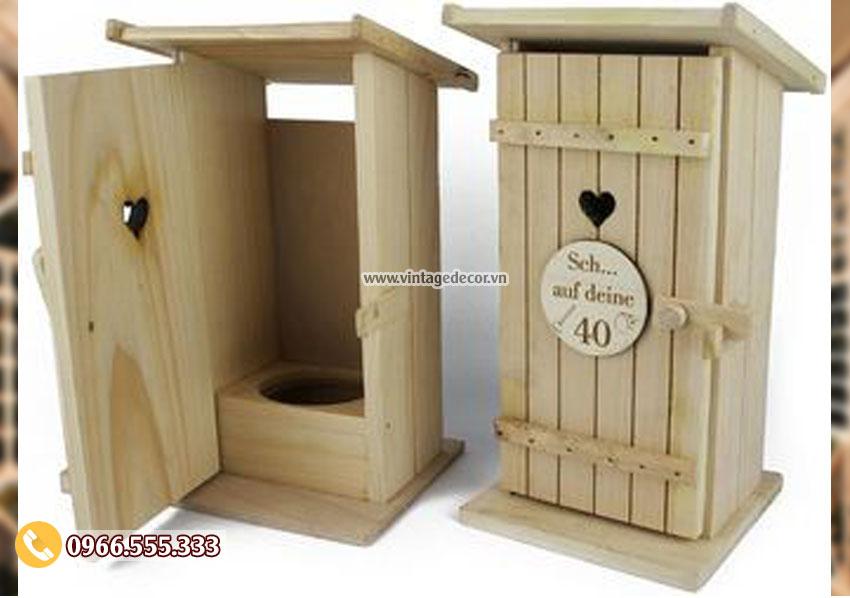Mẫu hộp gỗ đựng rượuđẹp HDR41