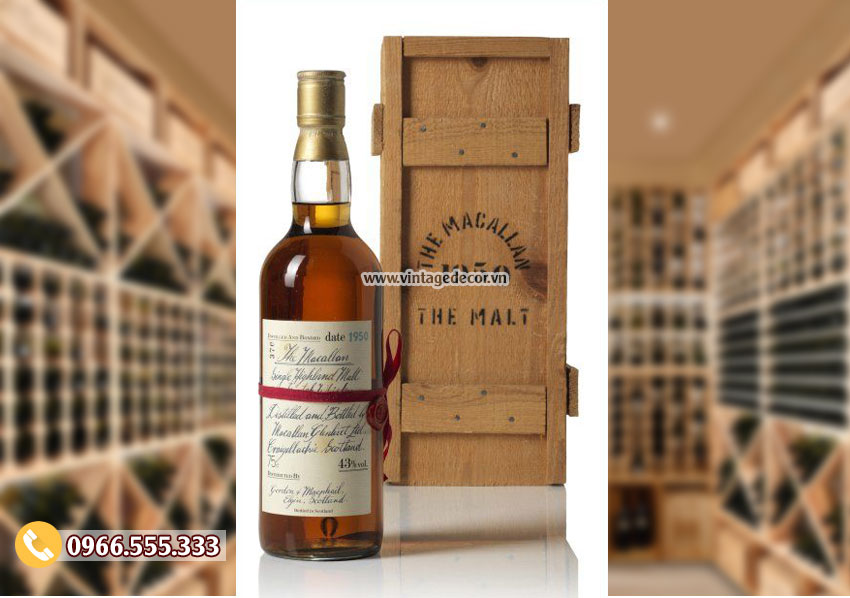 Mẫu hộp gỗ đựng 1 chai rượu đơn giản HDR49