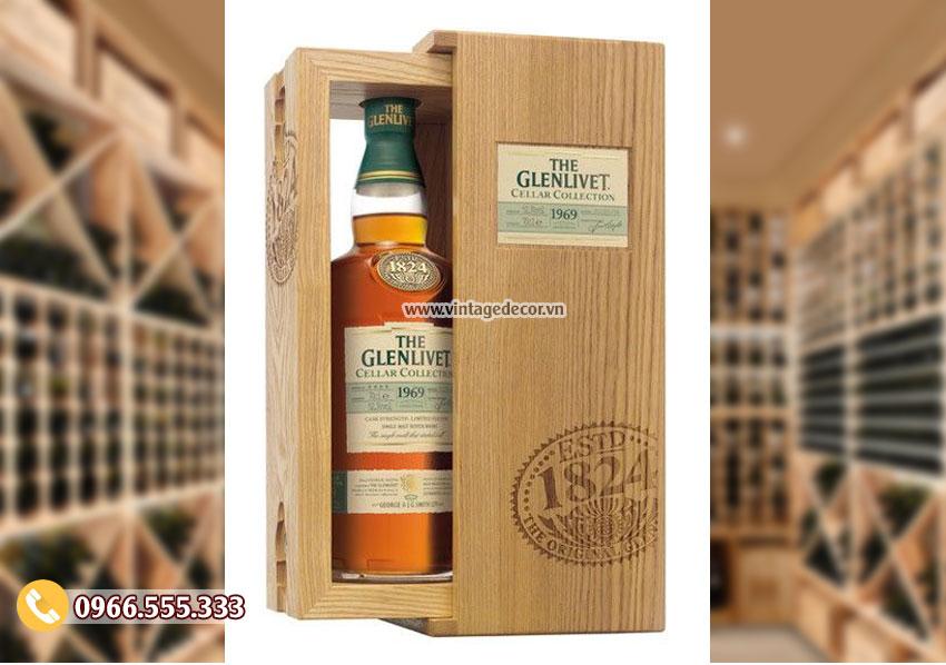 Mẫu hộp gỗ đựng rượucao cấp HDR57