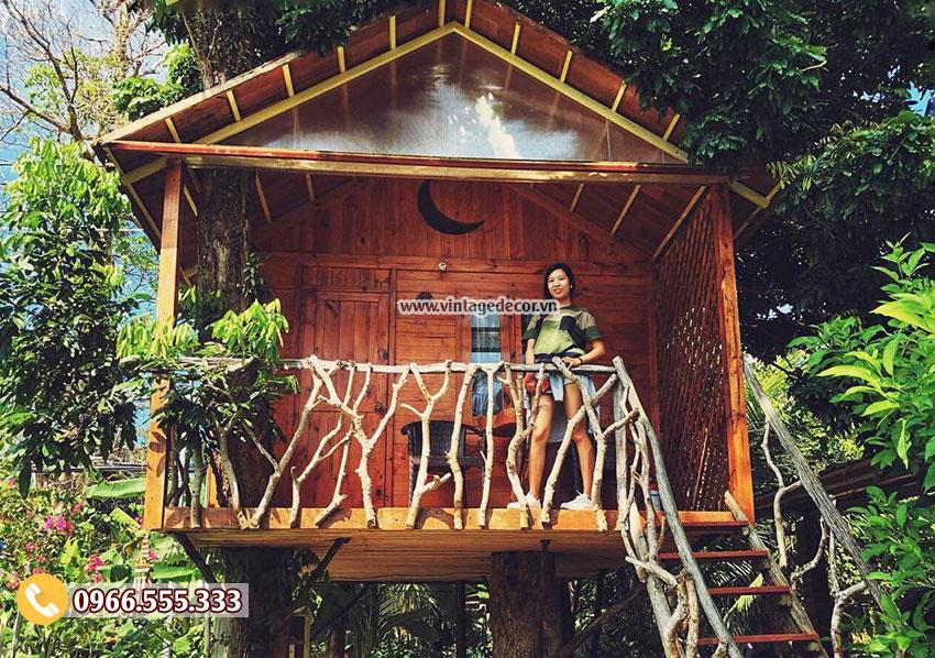 Mẫu bungalow trong vườn phong cách độc đáo NB16
