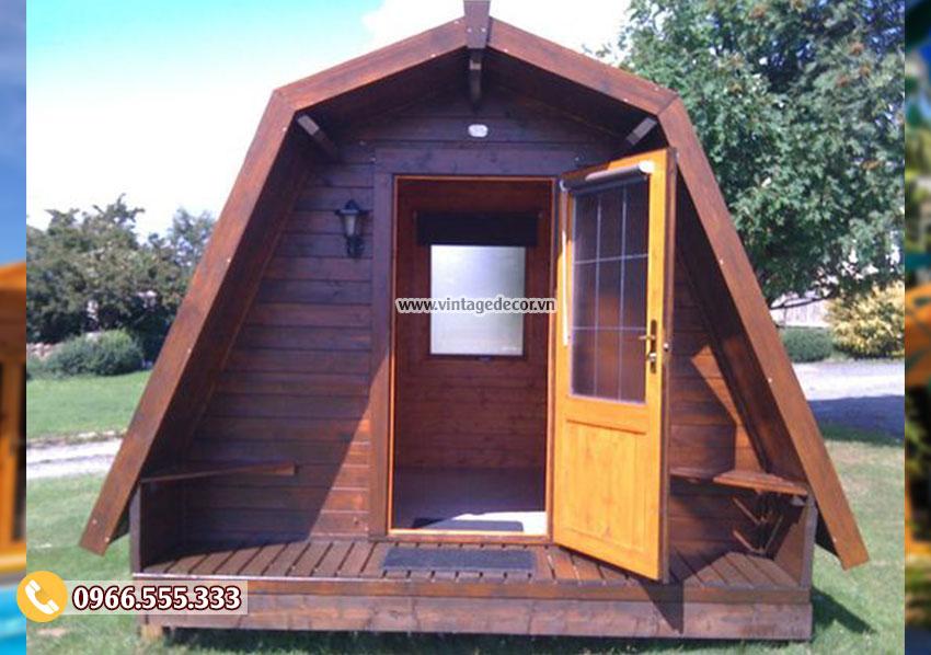 Mẫu nhà vường bungalow di động thông minh NB57