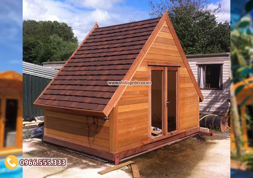 Mẫu bungalow resort mái thái di động thông minh NB60