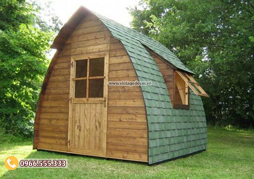 Mẫu thiết kế bungalow đơn giản trong vườn NB18
