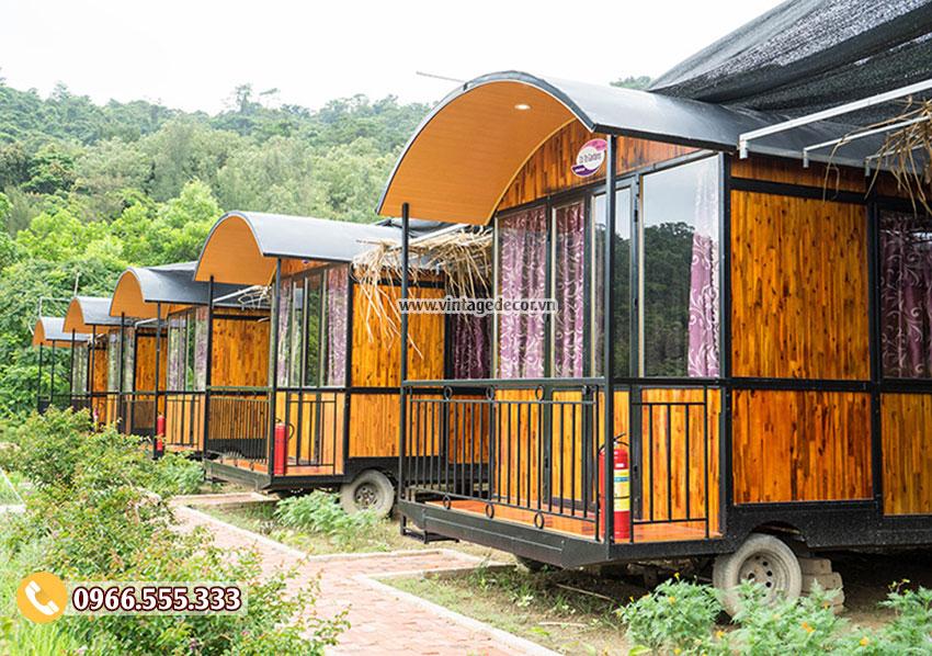 Mẫu bungalow phong cách cổ điển mini NB19