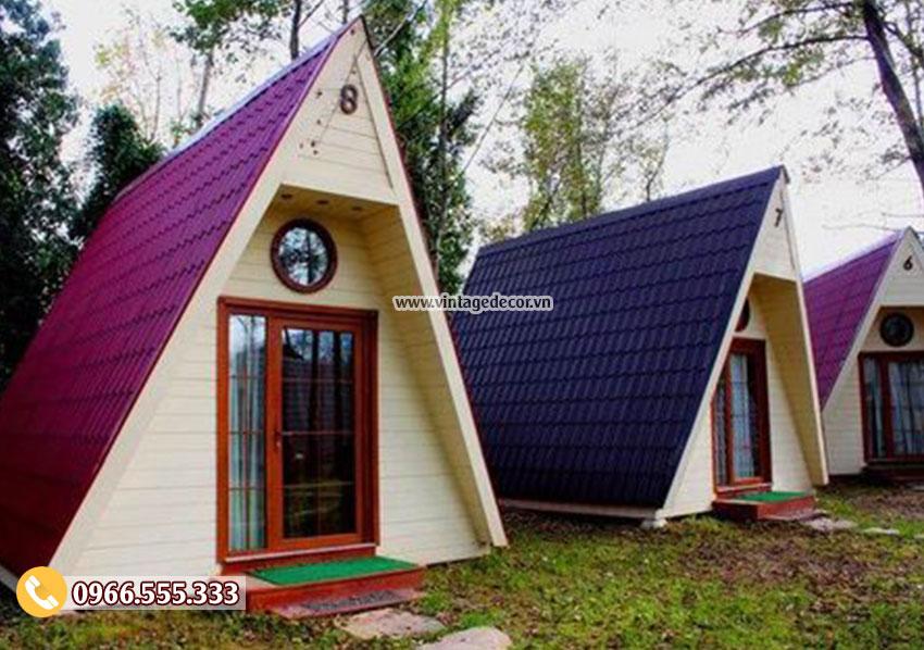 Mẫu thiết kế bungalow cấp 4 mini đẹp NB21