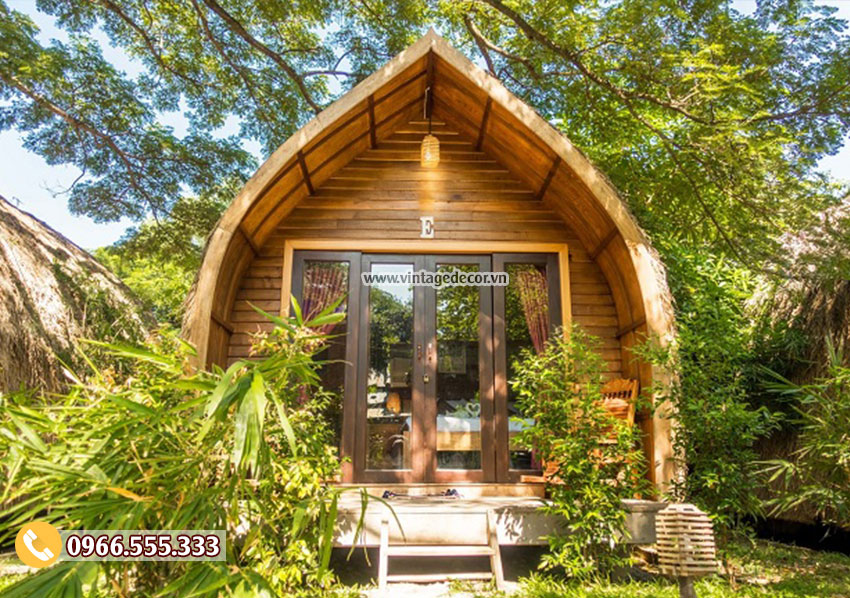 20 mẫu thiết kế thi công bungalow phong cách resort 2019