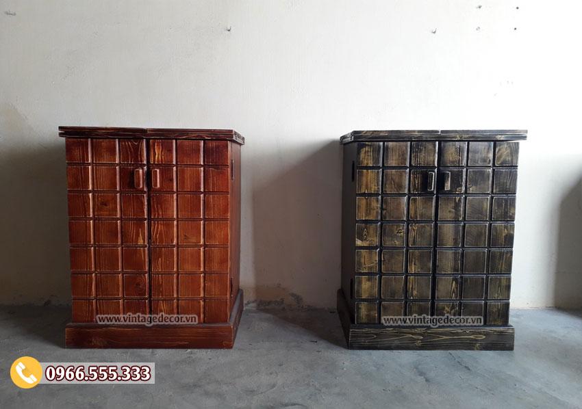 Tủ rượu vang trang trí phòng khách TRM01