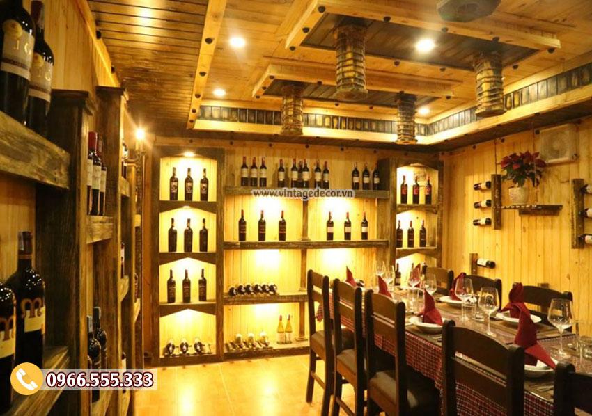 Hầm rượu vang hiện đại mang đến sự thời thượng và đẳng cấp