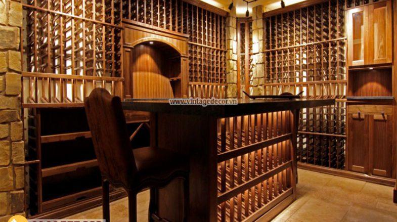 xu hướng thi công hầm rượu vang