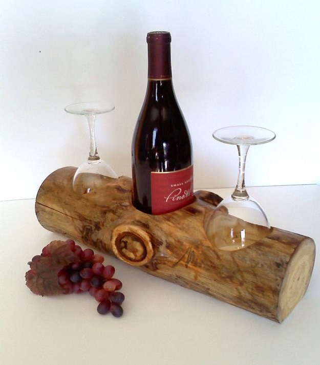 Kệ rượu vang giả thanh gỗ