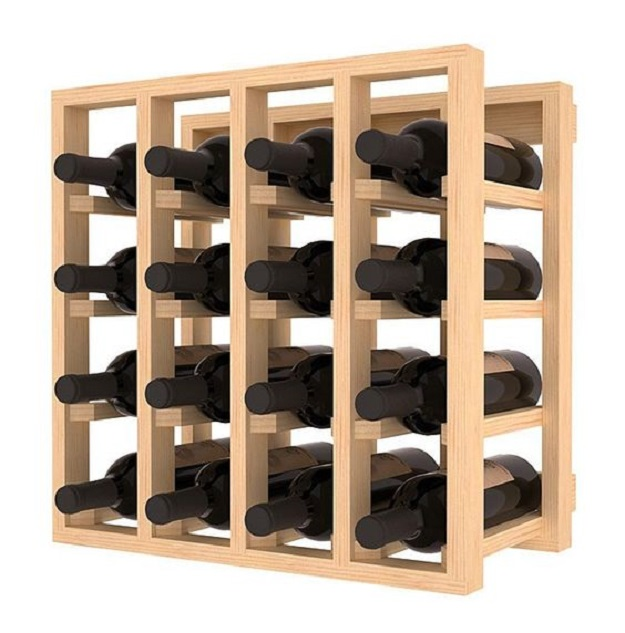 kệ treo rượu vang đa ngăn